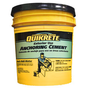 Gernatt Gravel | Buffalo, NY | QUIKRETE® Anchoring Cement
