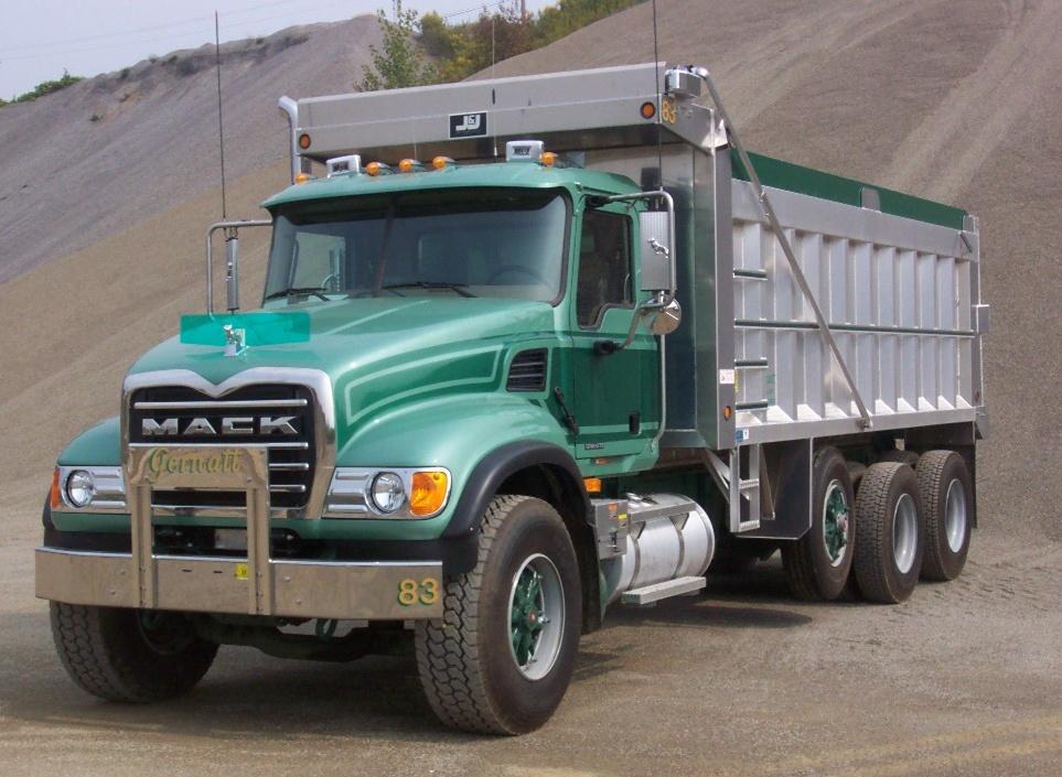 Gernatt Gravel | Buffalo, NY | Triaxle Dump Truck